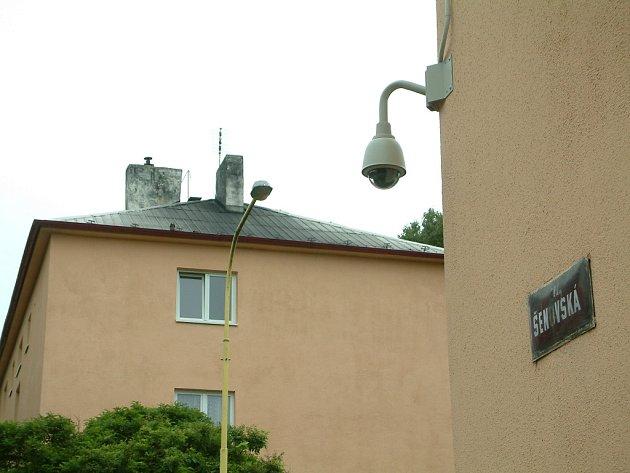 Nejstarší šumbarskou část hlídají nové kamery.