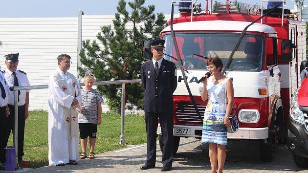 Dobrovolní hasiči z Horního Žukova