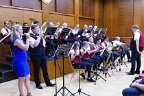 Koncert dechové hudby Slatina.