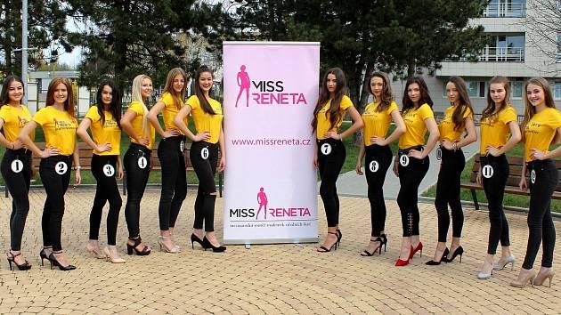 Finalistky 27. ročníku Miss Reneta v Havířově.