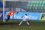 Tomáš Wágner dává gól na 1:0. Na výhru nestačil.