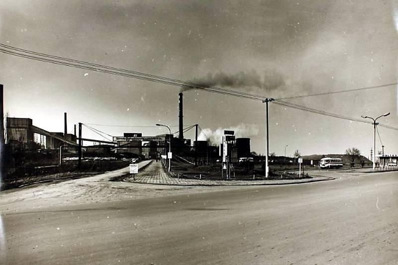 Karviná, Důl ČSA, elektrárna.