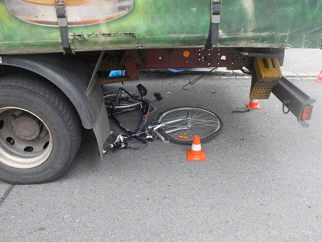 Tragická nehoda cyklisty v Bohumíně.