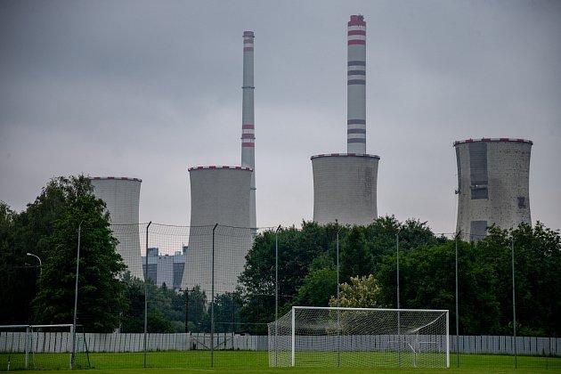 Pod elektrárenskými komíny se vDětmarovicích kope už řadu let. Aktuálně je to divize.