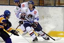 Orlovští hokejisté doma prohráli s Valašským Meziříčím.