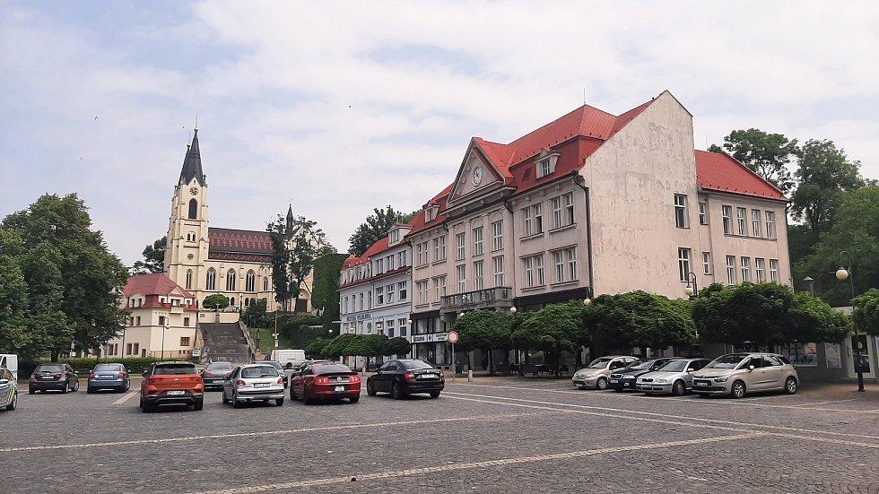 Orlová-Město. Náměstí.