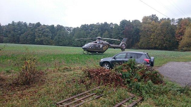 Vážná autonehoda vŠenově.