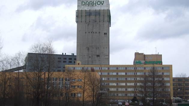 Důl Darkov v Karviné.