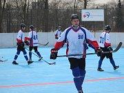 Hokejbalisté přezimují na solidním sedmém místě tabulky.