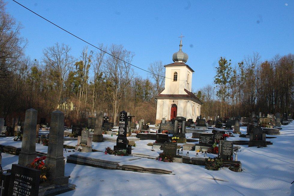 Těrlicko, hřbitov v Dolním Těrlicku