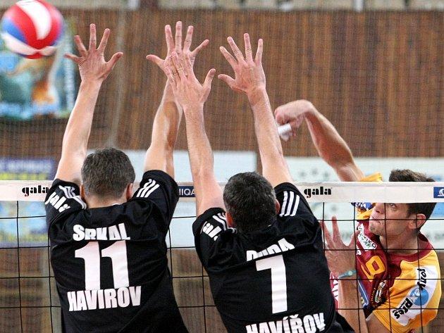 Volejbalisté Havířova odehráli venku solidní zápas.