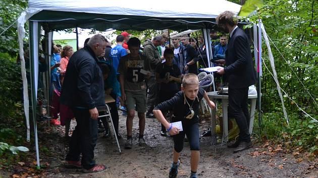 Jan Kůrka na startu závodů.