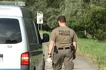 Na místě byl také policejní pyrotechnik.