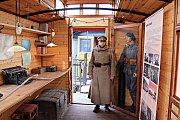 Legiovlak si mohou lidé prohlédnout v Havířově a v dubnu v Bohumíně.