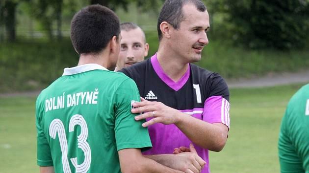 Jan Vasilko (s číslem 1) vychytal spoluhráčům tři body.