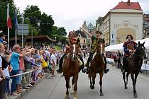Svátek Tří bratří v Těšínech.
