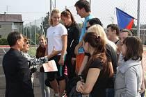 Nové sportoviště Střední školy v Prostřední Suché.