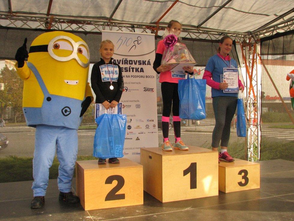 Vítězové dětského běhu Havířovské desítky 2016.
