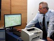 Pro návštěvníky z řad zastupitelů strážníci připravili ukázky výcviku.