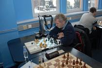 Jaroslav Olšar (na snímku) v důležitém střetnutí s Brnem zvítězil nad Ondřejem Nepomuckým.