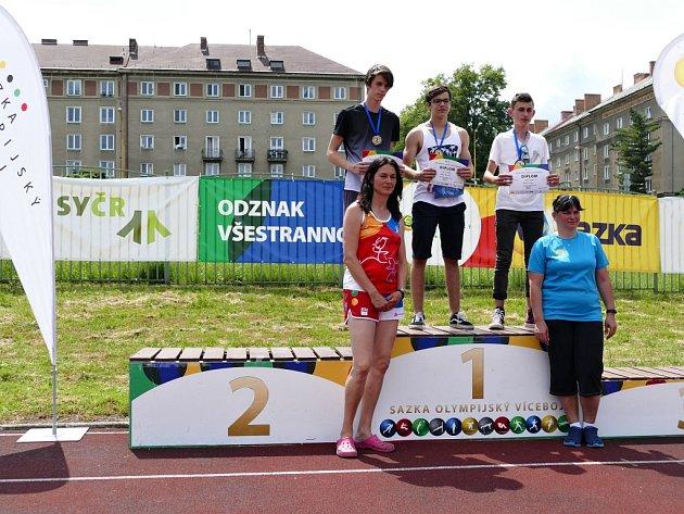 Krajské finále Sazka olympijského víceboje vHavířově.
