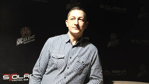 Dramaturg klubu Stolárna Rostislav Jež.