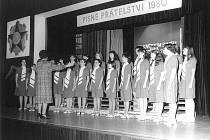 Rok 1980, kdy Permoník vystupoval na festivalu Písně přátelství.
