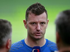 Jan Laštůvka už může poskytovat rozhovory jako člen Slavie Praha.