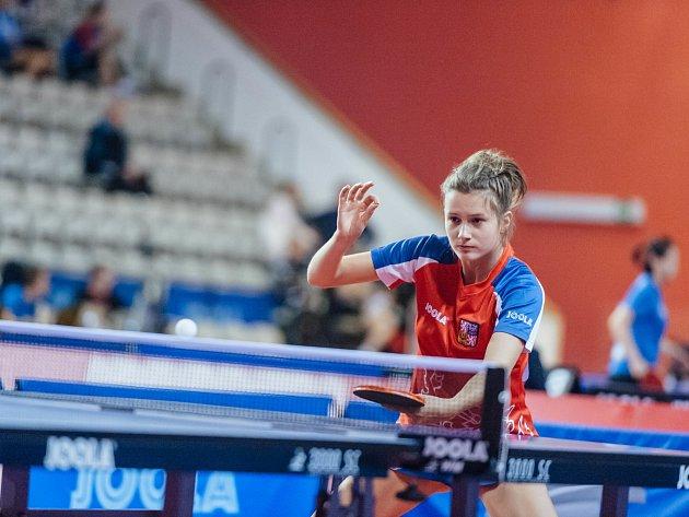 Nikita Petrovová potvrdila na bodovacím turnaji slušnou formu.