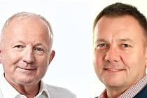 Ve druhém kole senátních voleb v okrese Karviná se příští týden utkají o křeslo senátora starosta Stonavy Ondřej Feber (ANO) a lékař a dosavadní senátor za ČSSD Radek Sušil.