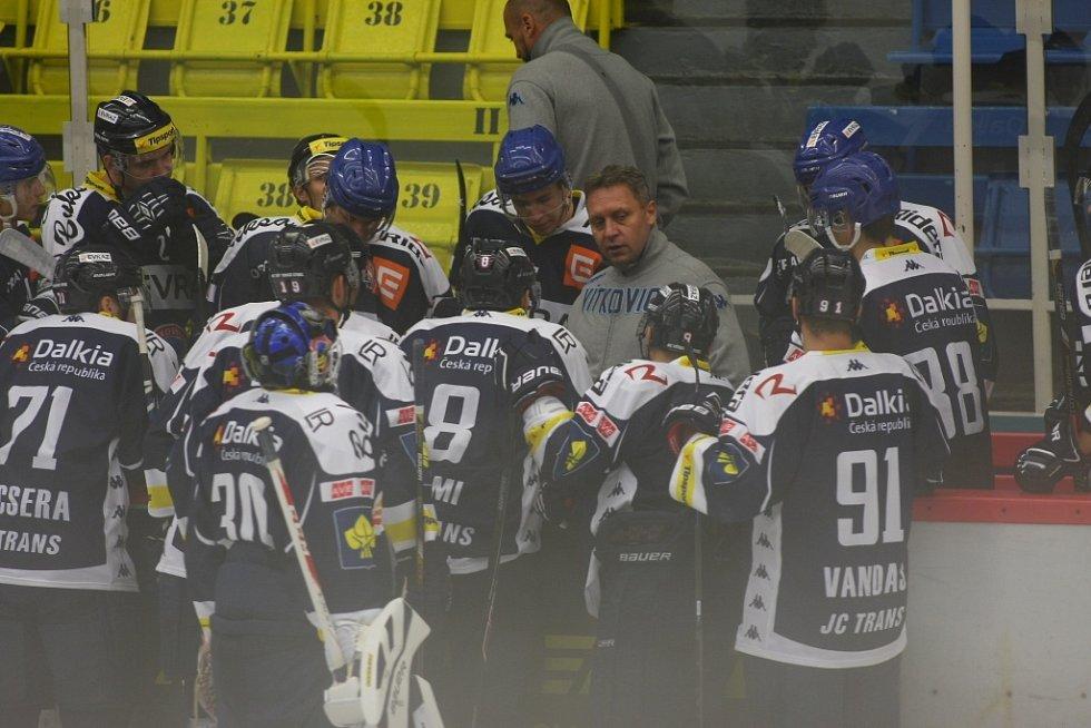 Přípravné utkání HC AZ Havířov a HC Vítkovice.