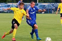 Martin Limanovský a Josef Hoffmann (vpravo), bývalí spoluhráči z Karviné.