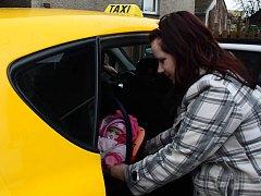 Baby taxi v Bohumíně.