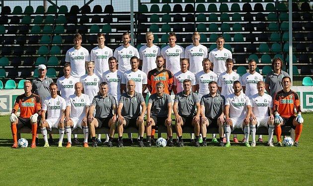 Oficiální focení týmu fotbalistů Karviné.