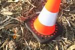 Nevybuchlý granát objevil náhodný kolemjdoucí v poli v Bohumíně.