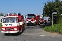 Dobrovolní hasiči z Horního Žukova pokřtili poslední srpnovou sobotu nový vůz, který dostali darem od města.