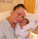 Davídek Giňa se narodil 26. září mamince Lucii Kristiánové z Karviné. Po porodu dítě vážilo 3190 g a měřilo 49 cm.