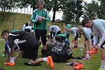 Fotbalisté Karviné v letní přípravě.