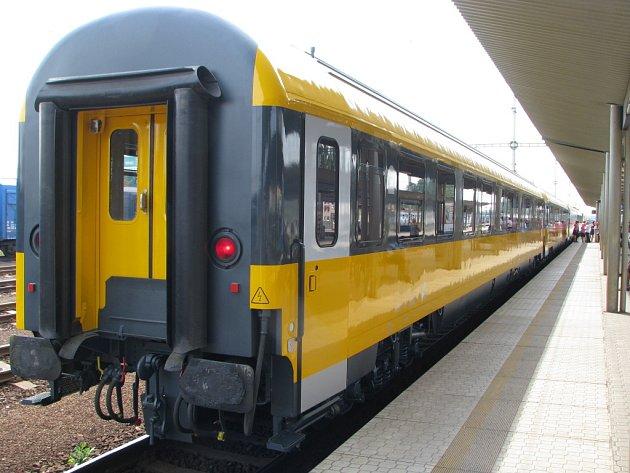 Vagon vlaku RegioJet. ilustrační snímek.