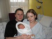 Kubíček se narodil 26. prosince paní Monice Veselé. Po porodu miminko vážilo 2940 g a měřilo 46 cm.