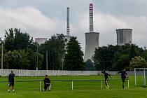 Fotbalisté Dětmarovic potřetí v sezoně vyhráli. Ve 13. kole divize F porazili doma silný Frenštát 4:1.