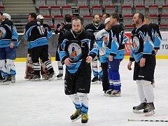 Amatérští hokejisté mají za sebou polovinu základní části. Na snímku tým Kozubové.