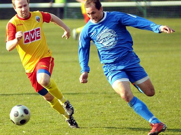 Fotbalisté Bohumína nenavázali na výkon z Frýdlantu a ztratili doma body.