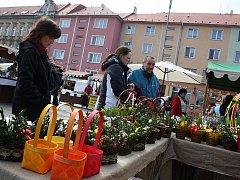 V Bohumíně se v sobotu konal velikonoční jarmark, letos v historickém stylu.