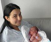 Leontýnka Nováková se narodila 9. srpna paní Aleně Novákové z Orlové. Po porodu holčička vážila 3280 g a měřila 49 cm.
