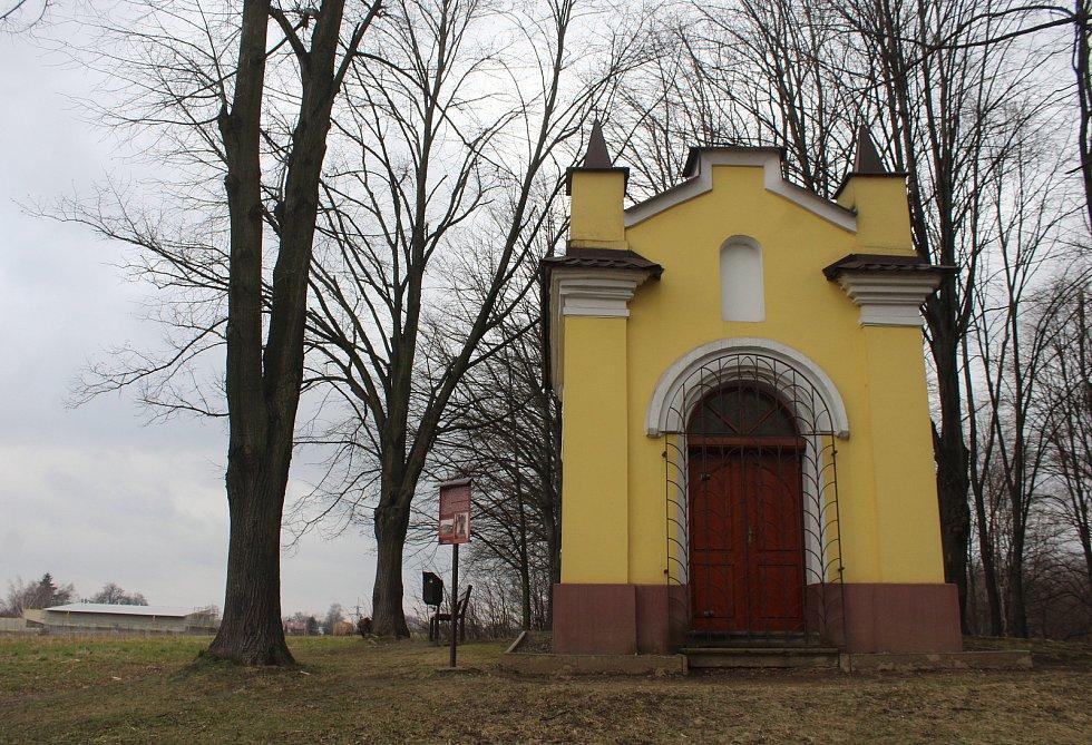Dětmarovice. Něbrojova kaple.