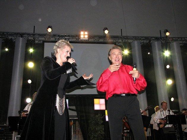 Koncert Karla Gotta a Evy Urbanové.