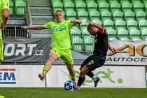 Michal Petráň (v zeleném) se těší na první ligu.