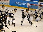 Záběry z utkání Havířov (v bílém) - Ústí nad Labem.