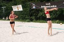 Marie Makovcová (vlevo), na snímku se svou parťačkou Karin Žolnerčíkovou, je sportovní hvězdou čtenářů 2015.